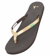 Sanuk Women's Yoga Joy Metallic Flip Flop 8115986