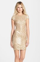 Dress the Population Women's Tabitha Sequin Minidress