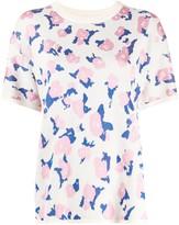 Christian Wijnants floral embroidered short-sleeve jumper