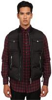 DSQUARED2 Leather Yoke Vest