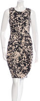 Lela Rose Silk Wool-Blend Sleeveless Dress w/ Tags