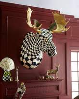 Mackenzie Childs MacKenzie-Childs Courtly Check Moose Head