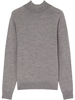 Jigsaw Fine Merino Mock Neck Jumper