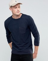 Brave Soul Loop Back Crew Neck Sweater