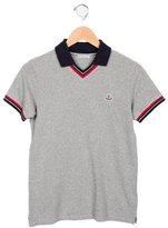 Moncler Boys' Short Sleeve Polo Shirt