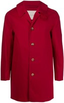 MACKINTOSH Red Bonded Cotton Short Coat | GR-002/BT