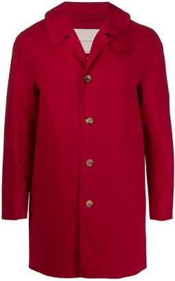 MACKINTOSH Red Bonded Cotton Short Coat | GR-002/BT