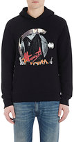 Maison Margiela Men's Rock & Roll French Terry Hoodie-BLACK