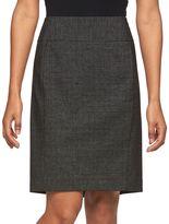 Apt. 9 Petite Slubbed Pencil Skirt