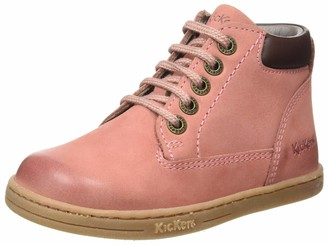 Kickers Girls' Vermillon Slouch Boots