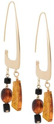 BAR JEWELLERY Rise mixed earrings
