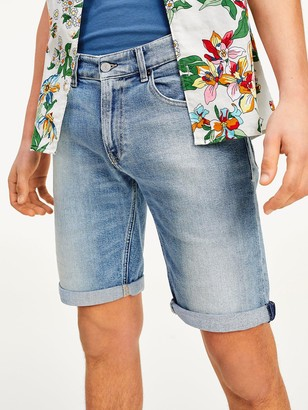 Tommy Jeans Ronnie Denim Shorts - Light Blue