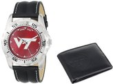 "Game Time Men's COL-WWS-VAT ""Watch & Wallet"" Watch - Virginia Tech"