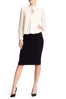 Max Studio Ribbed Midi Skirt