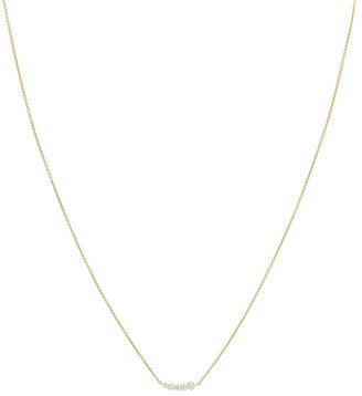 Sophie Bille Brahe Lune 18kt gold and diamond necklace