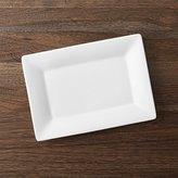 """Crate & Barrel Cambridge Rectangle 11.75""""x8.25"""" Platter"""