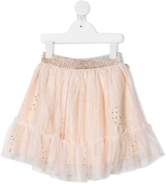 Billieblush Sequin-Embellished Tulle Skirt
