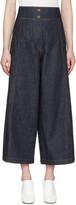 Kenzo Blue Wide Cut Jeans