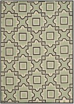 Safavieh FRS398A-4 Four Seasons Collection Hand-Hooked Indoor/Outdoor Area Rug, 4x6-Feet