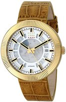 Cccp Men's CP-7025-04 Monino Analog Display Japanese Automatic Brown Watch