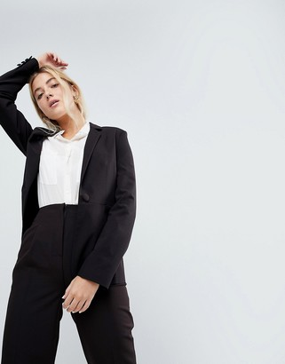 Asos Design DESIGN mix & match tailored blazer-Black