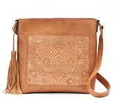 SONOMA Goods for LifeTM Embossed Abstract Hobo