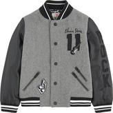 Little Eleven Paris Bi-material Teddy jacket
