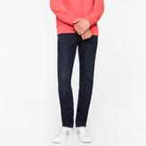 Paul Smith Men's Slim-Fit 14oz '4-Way Stretch' Denim Dark-Wash Jeans