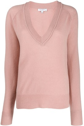 Equipment Long-Sleeve Fitted Sweater