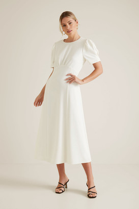 Seed Heritage Puff Sleeve Dress