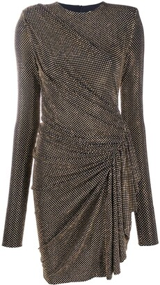 Alexandre Vauthier Studded Ruffle Mini Dress