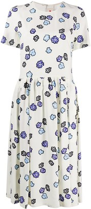 Marni Floral-Print Dress