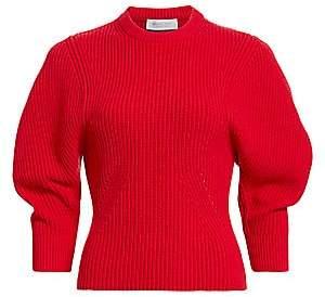 Michael Kors Women's Cashmere Shaker Knit Pullover Sweater