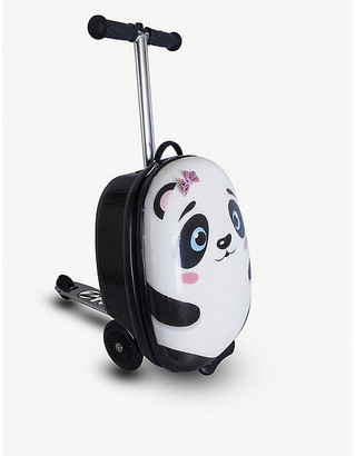 Selfridges Polly the Panda scooter suitcase