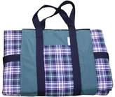 Tuffo LLC TA3-013 Water-Resistant Outdoor Blanket- Green Plaid