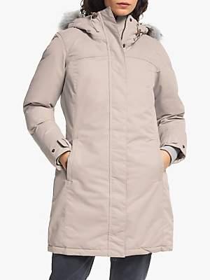 Columbia Lindores Women's Waterproof Jacket, Light Cloud