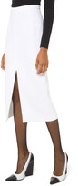 Michael Kors Crepe Slit-Hem Pencil Skirt