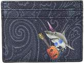 Etro Shark Card Holder Wallet