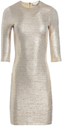 Alice + Olivia Delora Fitted Mini Dress