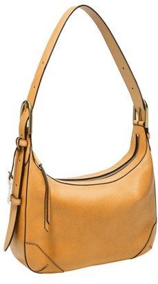 Fossil Hannah Hobo Handbags Amber Gold