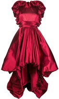 ZUHAIR MURAD high low satin gown
