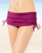 Soma Intimates Tommy Bahama Adjustable Swim Skirt Bottom Magenta