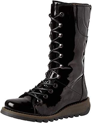 Fly London Women's STER768FLY Combat Boots, (Black 010), 8 (41 EU)