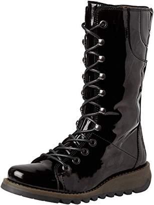Fly London Women's STER768FLY Combat Boots, Black (Black 010), 8 (41 EU)