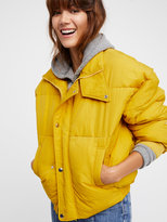 Free People Cold Rush Puffer Coat