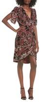 Leith Women's Burnout Velvet A-Line Dress
