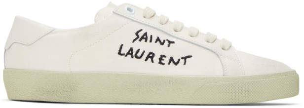 Saint Laurent Off-White Court Classic SL/06 Sneakers