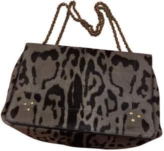 Jerome Dreyfuss Martin Grey Pony-style calfskin Handbags