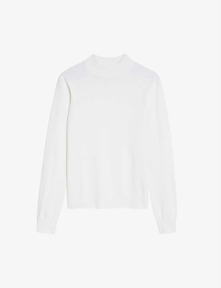 Sandro Industrial stretch-woven jumper