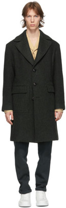 DOPPIAA Green Amburgo Coat